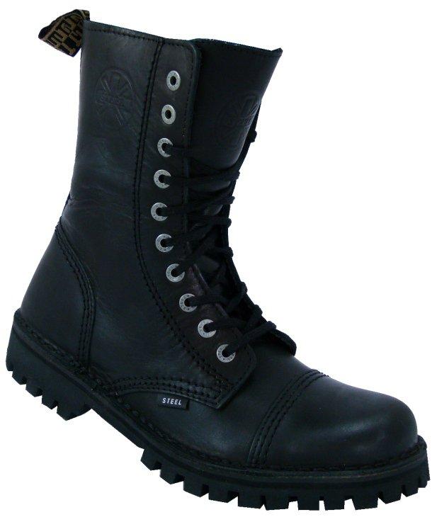 10 dírkové boty STEEL 315-124 Black bez oceli   Obuv-odevy.cz ... d60d52a931